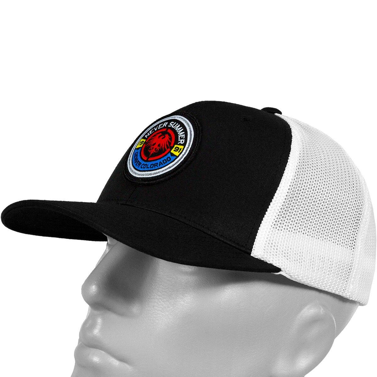 0f93364787191 Never Summer Bullet Eagle Flexfit Trucker Hat at Amazon Men s Clothing  store