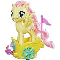 My Little Pony Muñeca Carro Real Giratorio - Fluttershy