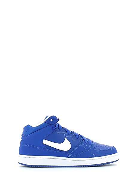 Nike Boys' Priority Mid GS Basketball Shoes, Blue/White (Game Royal/