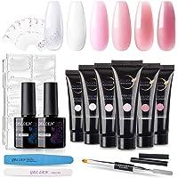 Gellen UV Gel nagelmaker - verlenging van nagels, manicurepakket met kunstnagelmaker