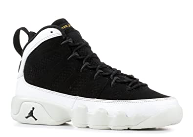 premium selection 6d646 1b19d Image Unavailable. Image not available for. Color  Nike Jordan Kids  Grade  School Air Jordan 9 Retro Basketball Shoes ...