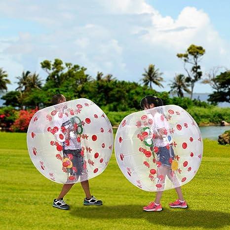Amazon.com: utheing PVC pelota hinchable de burbuja burbuja ...