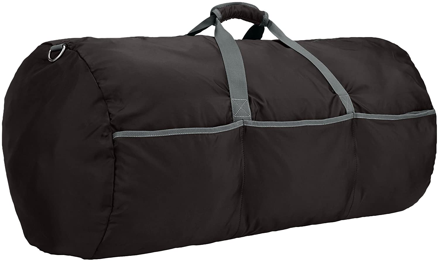 amazonbasics 98 ltrs large duffel bag black amazon in bags