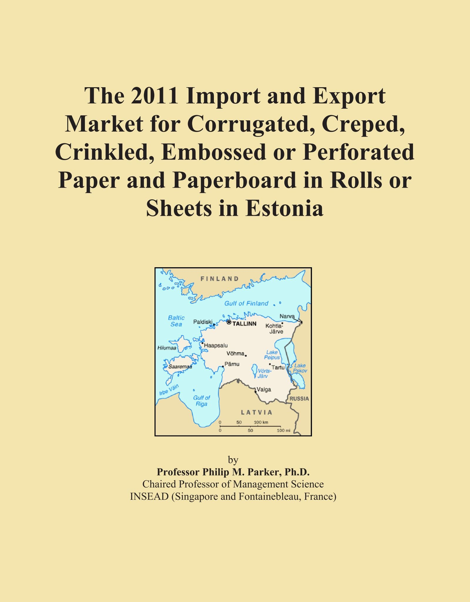 The 2011 Import and Export Market for Corrugated, Creped, Crinkled, Embossed or Perforated Paper and Paperboard in Rolls or Sheets in Estonia ebook