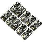 Pixnor 10pz NRF24L01 + 2,4 GHz Ricetrasmettitore Wireless modulo Arduino compatibile
