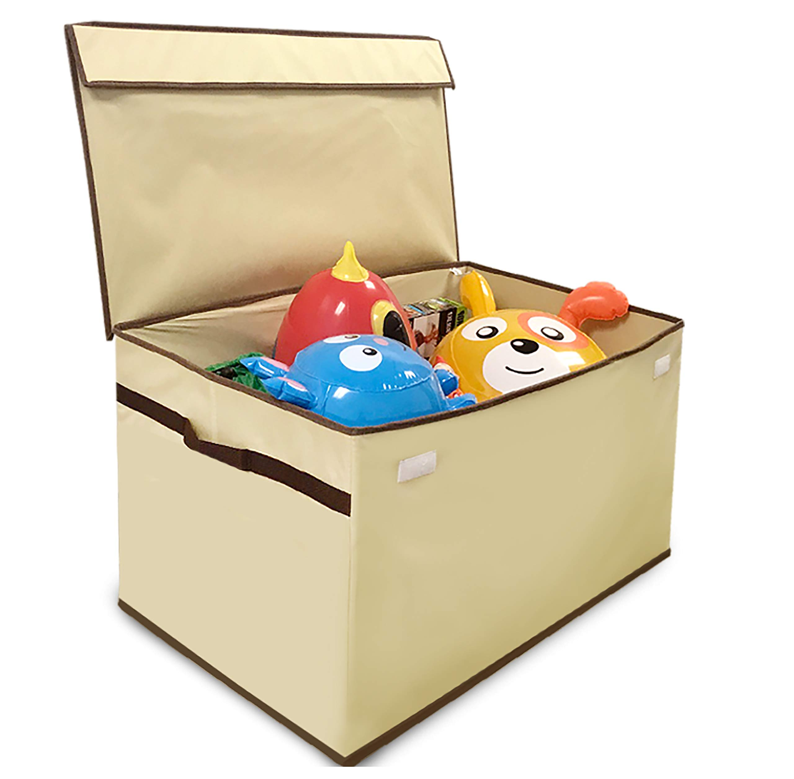EasyGoProducts Giant Toy Box Folding Toy Trunk Organizer, Toy Chest Collapsible Storage Bin, Great for Nursery or Any Room with Toy Box Lid and Side Handles - 30'' Wide x 16'' deep x 15'' Tall by EasyGoProducts
