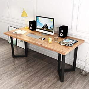 """MDEPYCO 2 Pack Industrial Rustic Furniture Legs,Modern V Shape 28"""" H x 19.7"""" W Table Legs,Heavy Duty Metal Desk Legs,Coffee Table Dining Table Legs, DIY Brackets Bench Legs(Only Legs Without Board)"""