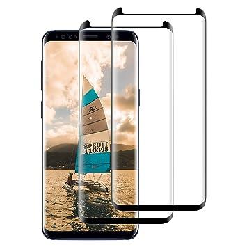 FayTun [Paquete de 2 Protector Pantalla para Samsung S9 Plus ...