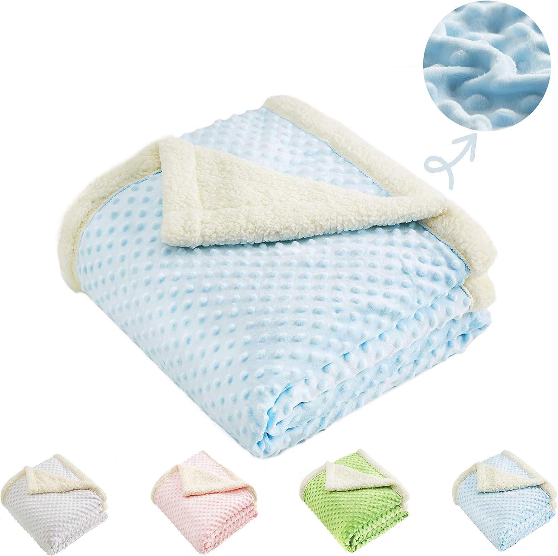 Super Soft Minky Dot Blanket