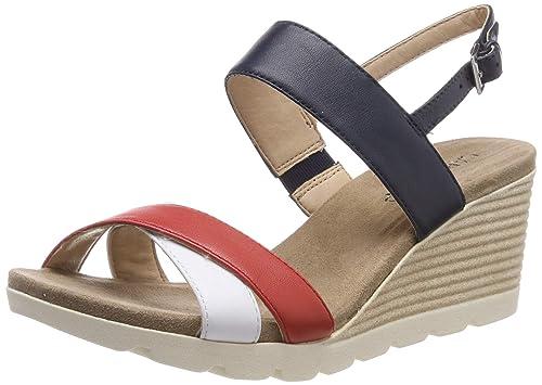 d513c7201d2b8 CAPRICE Women's Elena Ankle Strap Sandals: Amazon.co.uk: Shoes & Bags