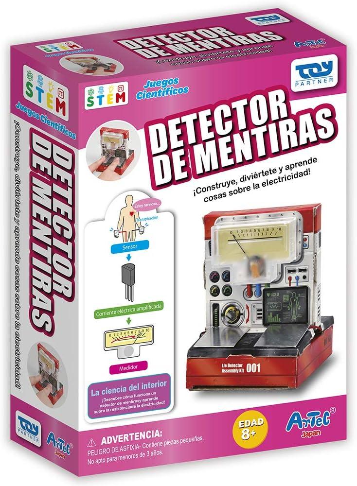 Toy Partner- Artec Construye tu detector de mentiras, Multicolor (95055) , color/modelo surtido: Amazon.es: Juguetes y juegos