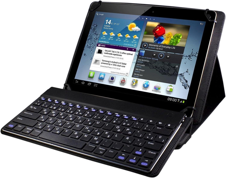 E-Vitta Keytab - Funda con teclado y Bluetooth para tablets de 9.7 ...