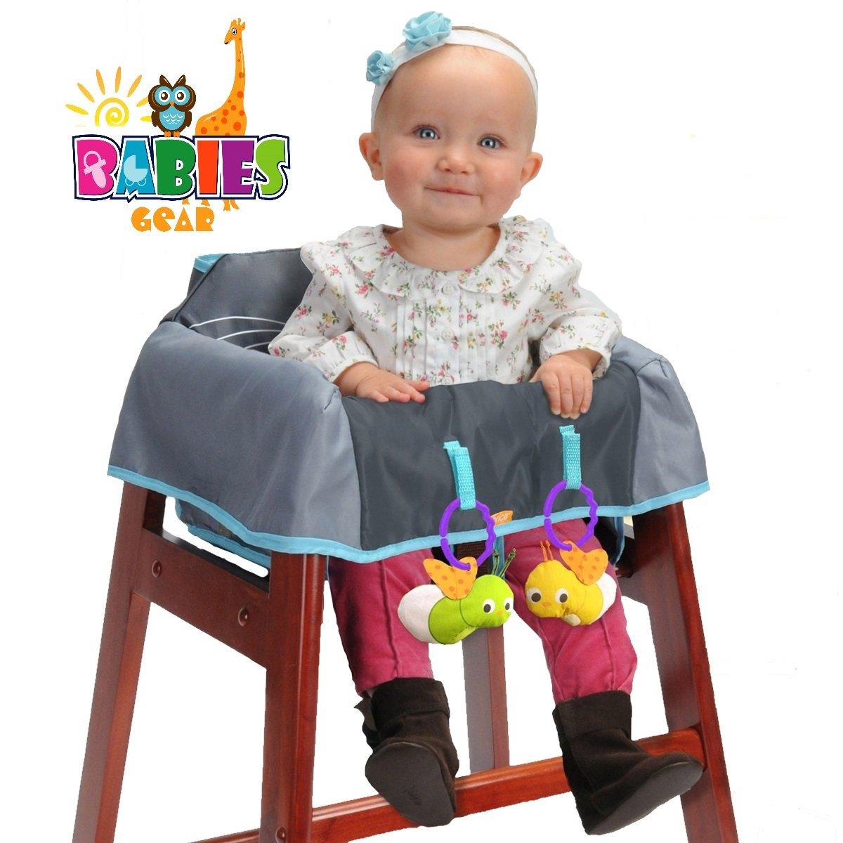 Miraculous Amazon Com Protective Highchair Cover For Babies Spiritservingveterans Wood Chair Design Ideas Spiritservingveteransorg