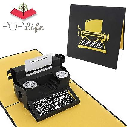 Tarjeta de felicitación de cumpleaños PopLife para escribir ...