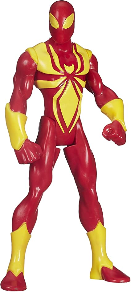 "Marvel Ultimate Spider-Man Web-Warriors Iron Spider Web Slingers Figure 5/"""