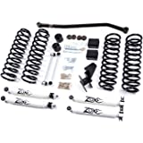 "Jeep 4"" JK Wrangler Unlimited Full Suspension Lift kit Zone Offroad (fits 4 door JKs only) Item #J15"