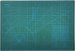 Cutting Mat PVC Cutting Mat Self-Healing Cutting Mat Office School Double-Sided Cutting Board Surface Non-Slip Design A3 (17.72''X11.81'')