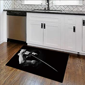Amazon.com: Non-slip Thicken Carpet portrait of muscle man ...