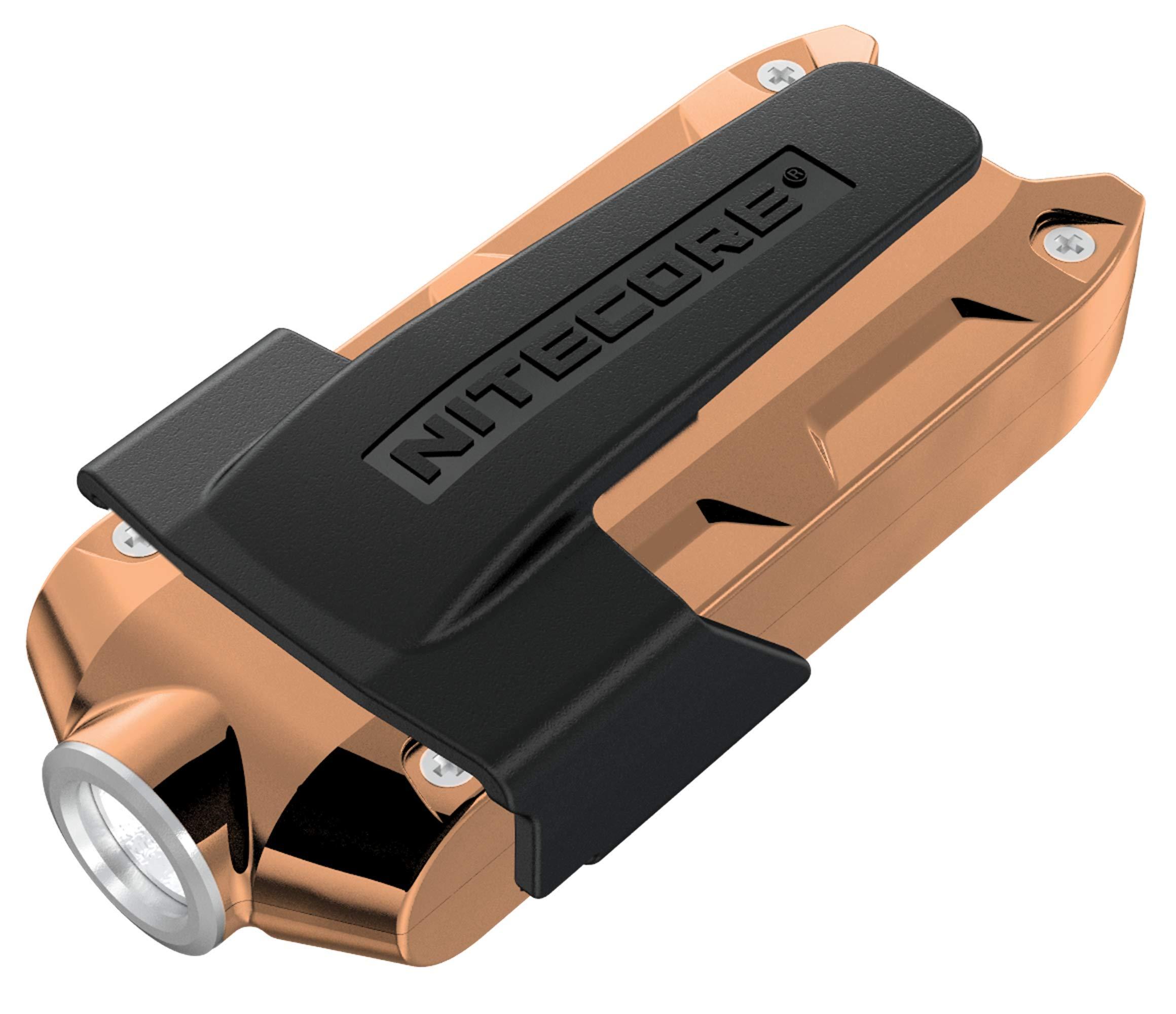 Linternas : Nitecore Tip 360 Lumens Light USB Recharg. Beige