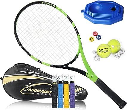 Amazon.com : Taiwanrns Acket Tennis Brand 1 Piece Tennis Racket Carbon  Fiber Woman & Men Tennis Racket with A Bag : Sports & Outdoors