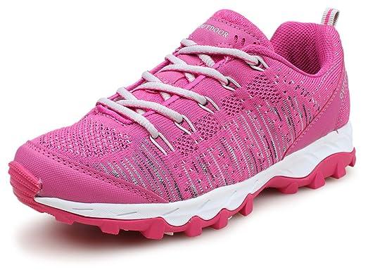 51f3b33f9b7 ... PhiFA Womens Tennis Running Shoes Fashion Sneakers Breathable Mesh Athletic  Sports Walking Shoes US Size 5.5 ...