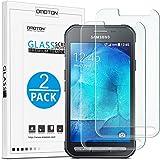 [2-Pièces] Samsung Galaxy XCover 3 / XCover 3 VE Film Vitre Protection Verre Trempé [4.5 Pouces] OMOTON Ecran Protecteur Samsung Galaxy XCover 3 / XCover 3 VE