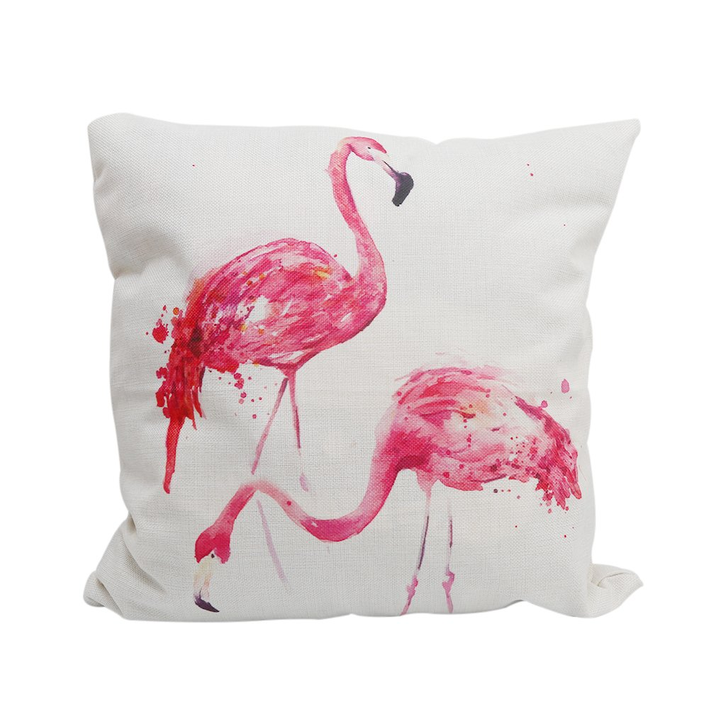 HENGSONG Flamingo Pattern Pillow Case Throw Pillow Cover Cushion Cover Pillowcase Home Decor 45 * 45 cm (D) Mei_mei9