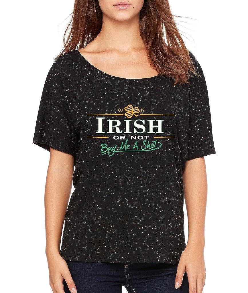 Vintage Irish or Not Buy Me a Shot T-shirt Proud Irish Shamrock Shirts