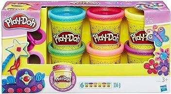 A5417 Play-Doh Pâte A Paillettes Loisirs Créatifs