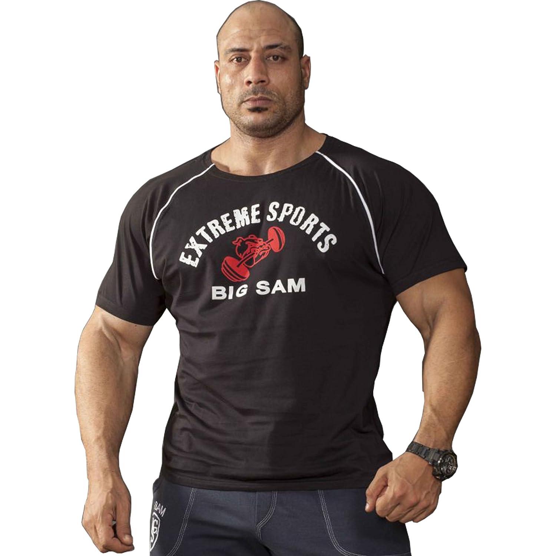 BIG SM EXTREME SPORTSWEAR Herren Ragtop Rag Top Sweater T-Shirt Bodybuilding 3057