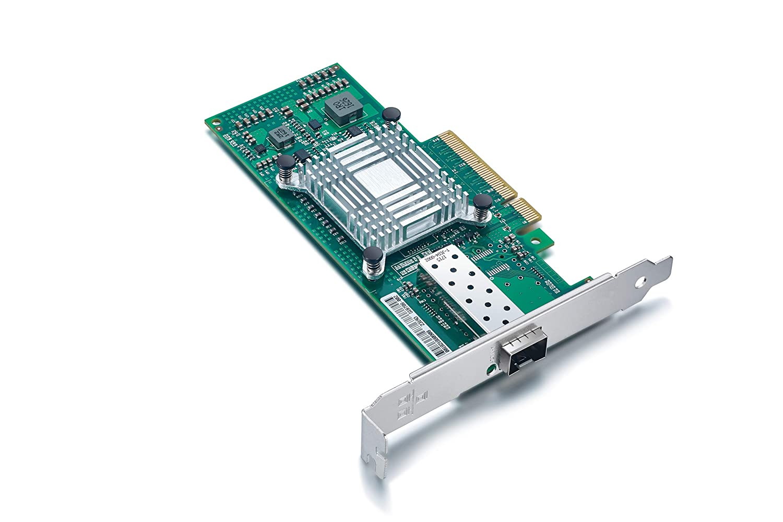 Ports 10G NIC for Windows Server,Linux,PC,VMware ESX 10 Gigabit SFP PCI-E Ethernet LAN Card Low Profile Dual SFP 10Gb PCI Express Network Card for Intel X520-DA2 82599ES Chip