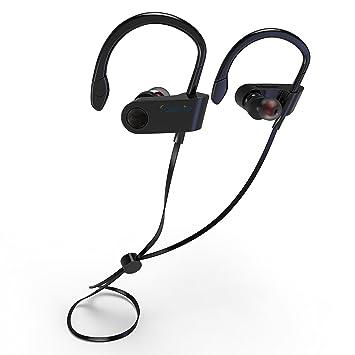 SGIN Auriculares Bluetooth, Inalámbricos Bluetooth V4.2 in-ear a prueba de sudor Headset Deportes Auriculares Con Micrófono Sonido Estéreo para iPhone, ...