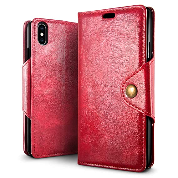 reputable site fd778 ccee3 Amazon.com: SLEO Case for iPhone Xs/X [5.8 Inch] Case, Magnetic ...