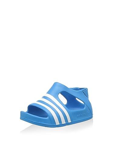 e40d6463118e adidas Boys Originals Infant Boys Adilette Slip On in Blue - 4 Infant