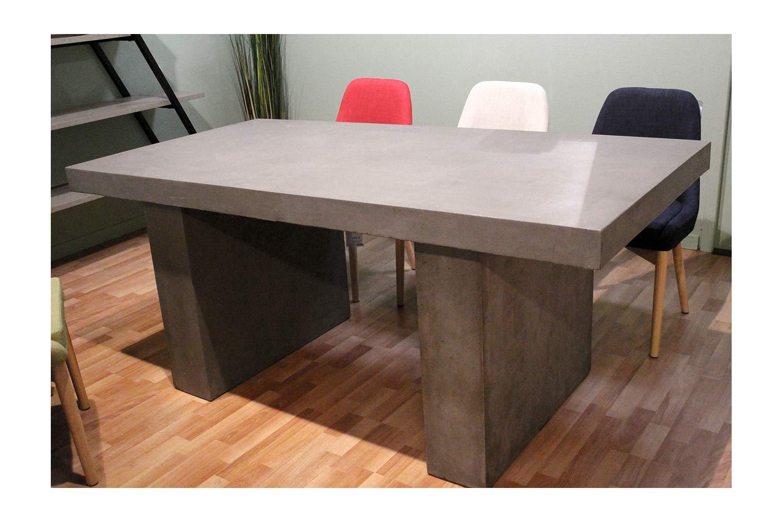 Tisch Esstisch Aus Beton U2013 Wohnzimmer Und Garten U2013 Modernes Design Loft Und  Industrie: Amazon.de: Küche U0026 Haushalt