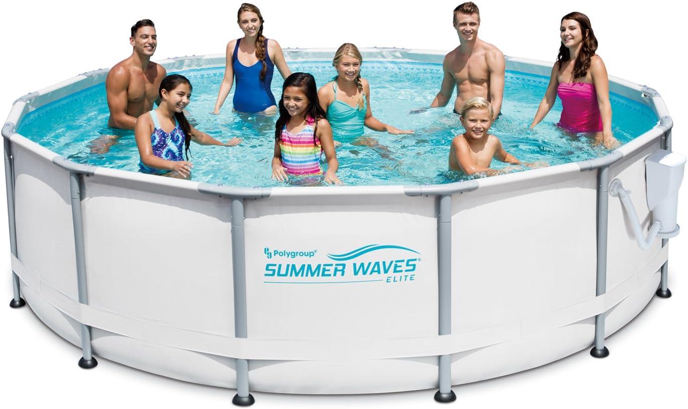 """Summer Waves Elite 14' x 42"""" Premium Frame"""