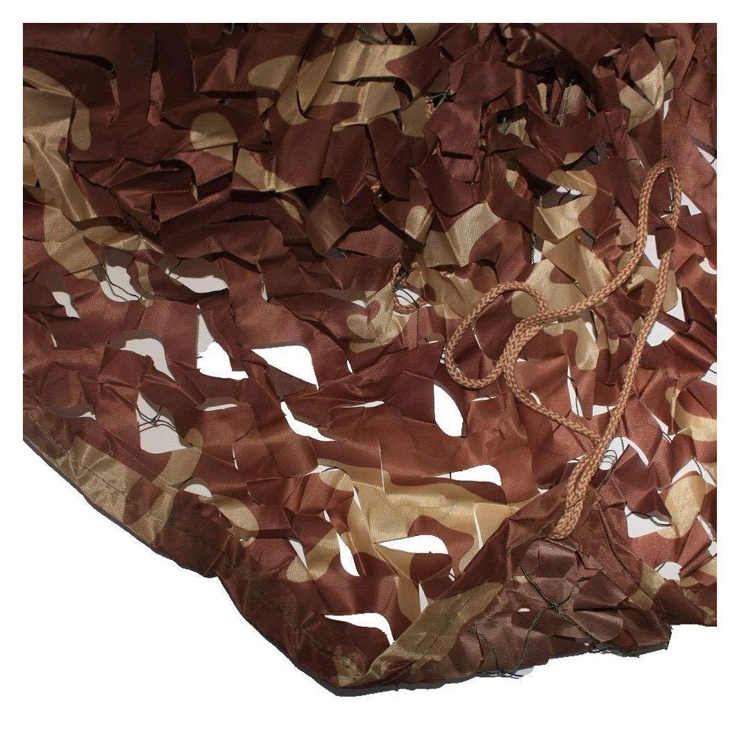 Size : 2 * 3M Toldos Impermeables Exterior 4x6 toldos Impermeables Exterior para Jard/ín Decoraci/ón Ej/ército Caza Militar Red de Sombra de Jard/ín 6.6 * 9.8ft