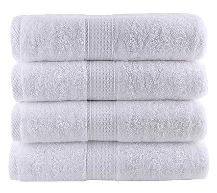 JITTY toalla de baño algodón, 70 x 140 cm, Set de 4, máxima
