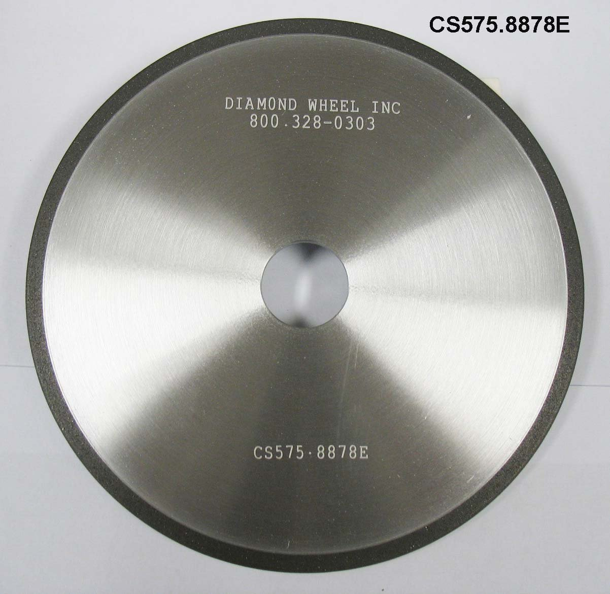 """Super Abrasive CBN 5-3/4"""" Chainsaw Wheels for ¼ and .325 Pitch Steel Chains"""