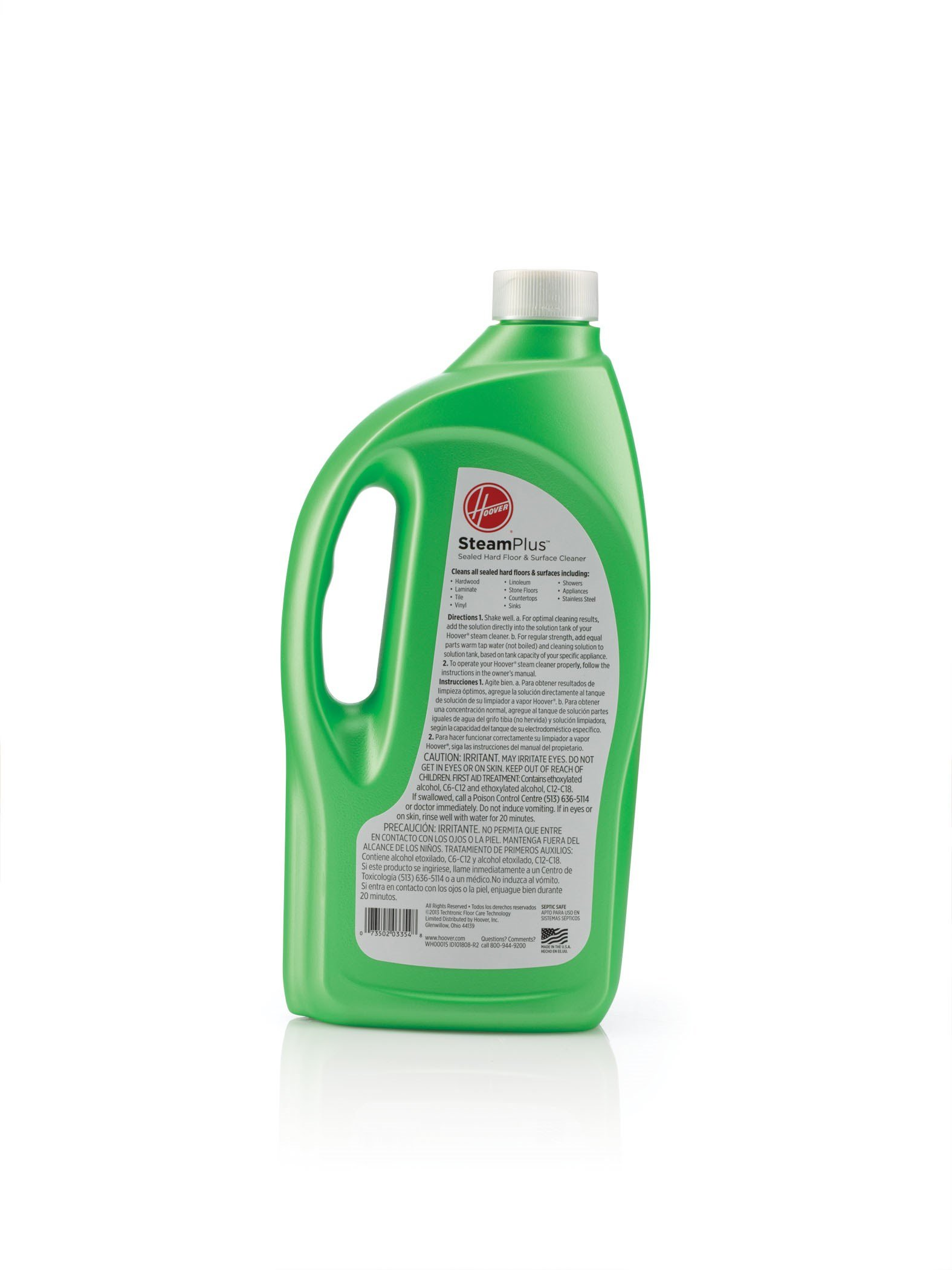Hoover WH00015 Hard Floor Cleaning Solution, SteamPlus Multi-Floor 2X Concentrated Formula, 32 oz by Hoover (Image #2)