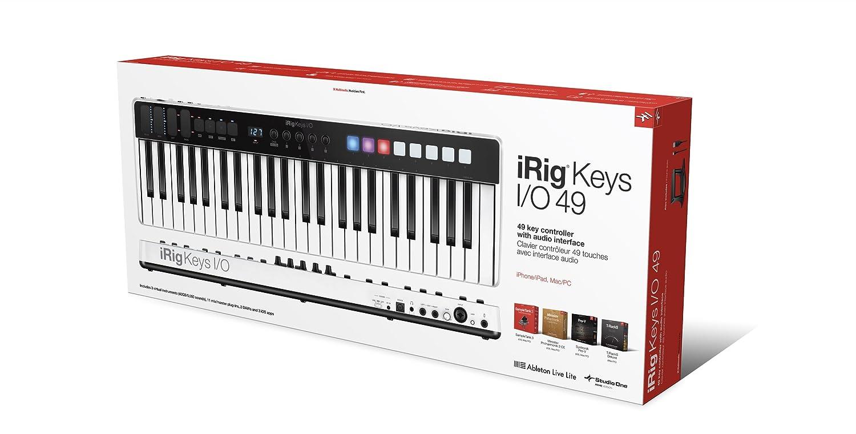 Amazon com: IK Multimedia iRig Keys, I/O 49 Audio Interface