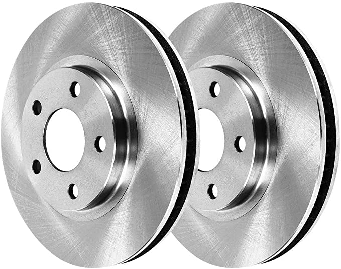 AutoShack R64125R64124 Front and Rear Brake Rotors