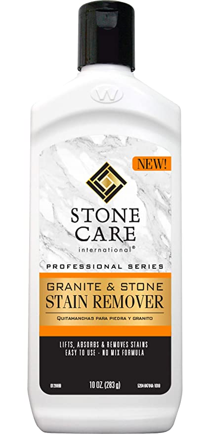 Stone Care International 5204 Stone Stain Remover 10oz, 10 oz