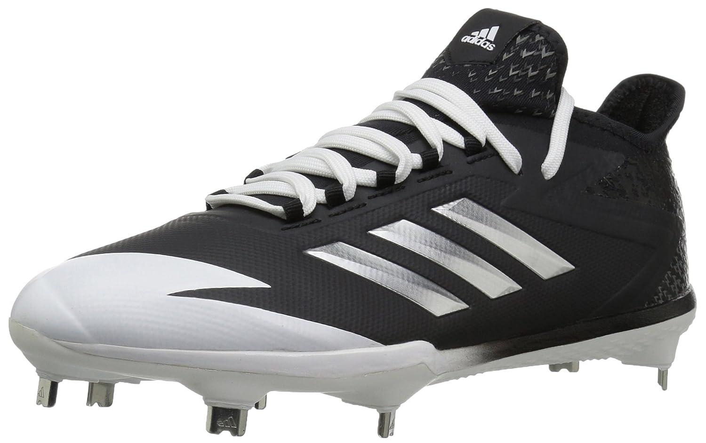 adidas Performance メンズ adizero Afterburner 4 B01N9JUT20 7.5 Medium US ブラック/メタリックシルバー/ホワイト ブラック/メタリックシルバー/ホワイト 7.5 Medium US