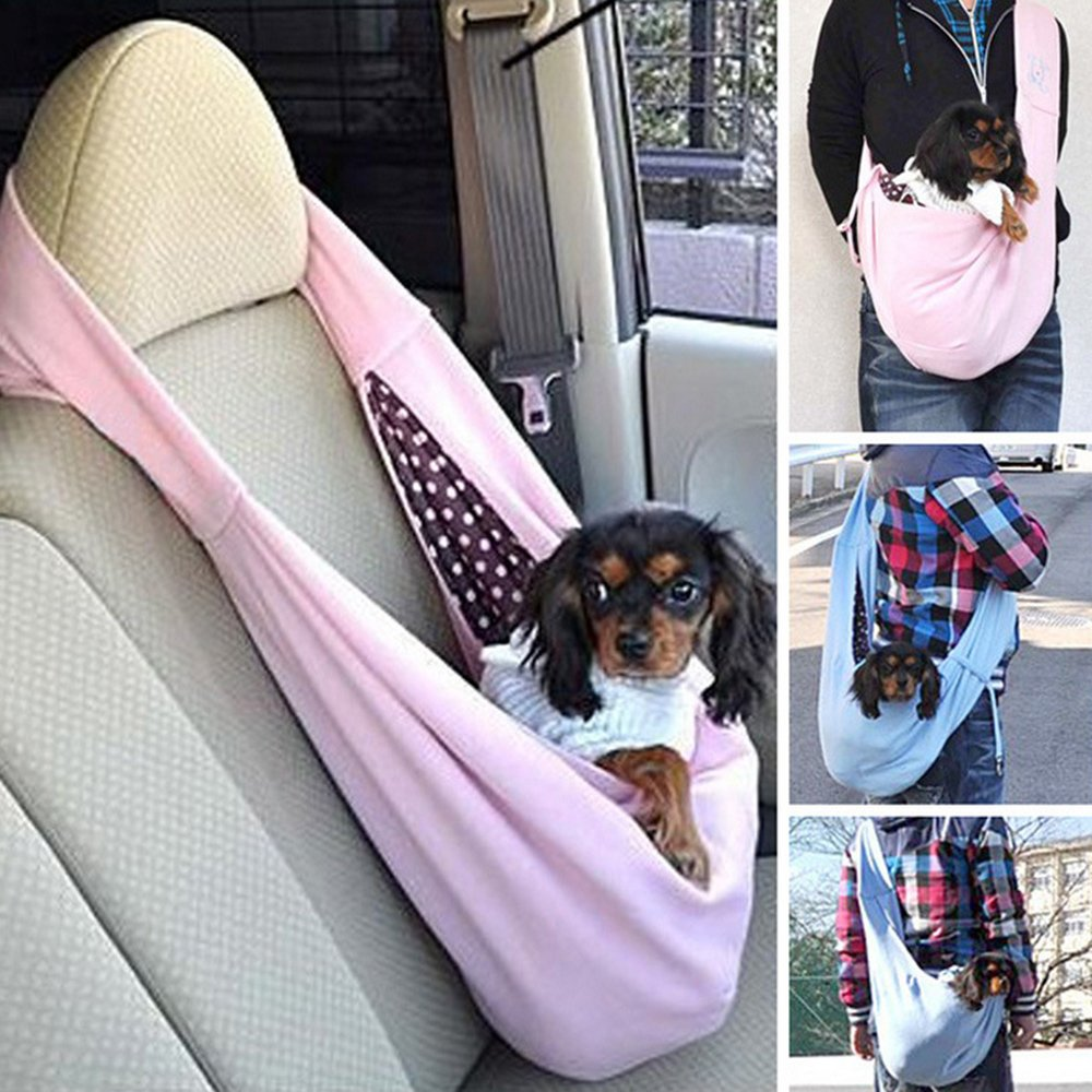 Up to 16 lbs Grtdrm Pet Sling Carrier Bag Travel Tote for Cats Dogs