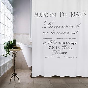 Park B Smith Maison DE Bains Shower Curtain 72quot