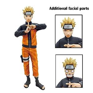 Banpresto 19840 Naruto Shippuden Grandista Nero Uzumaki Naruto Figure
