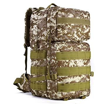 d898636895454 Huntvp Taktisch Rucksack Schultasche Erwachsene Taktischer  Trekkingrucksacke Wanderrucksäcke Backpack Reisetaschen Multifunktionale  Kampfrucksack für ...