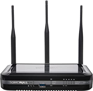 Dell Sonicwall 01-SSC-0648 Soho Wireless-N Security Appliance 5 Ports 10MB/100MB LAN, Gige 802.11 B/A/G/N