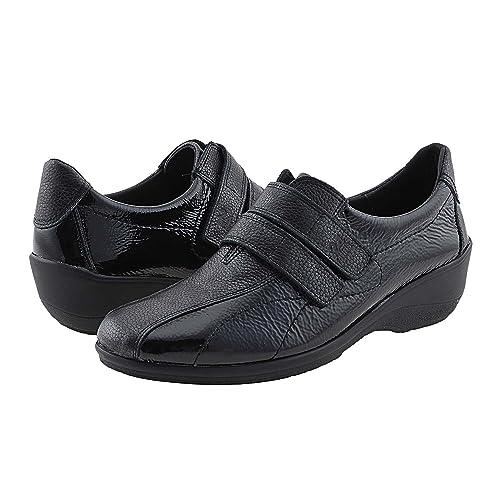 Deportivas 23377 Piel 24 Horas Talla: 39 Color: Negro: Amazon.es: Zapatos y complementos